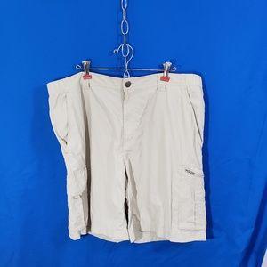 Columbia Men's Sun Protection Cargo Shorts Sz 40